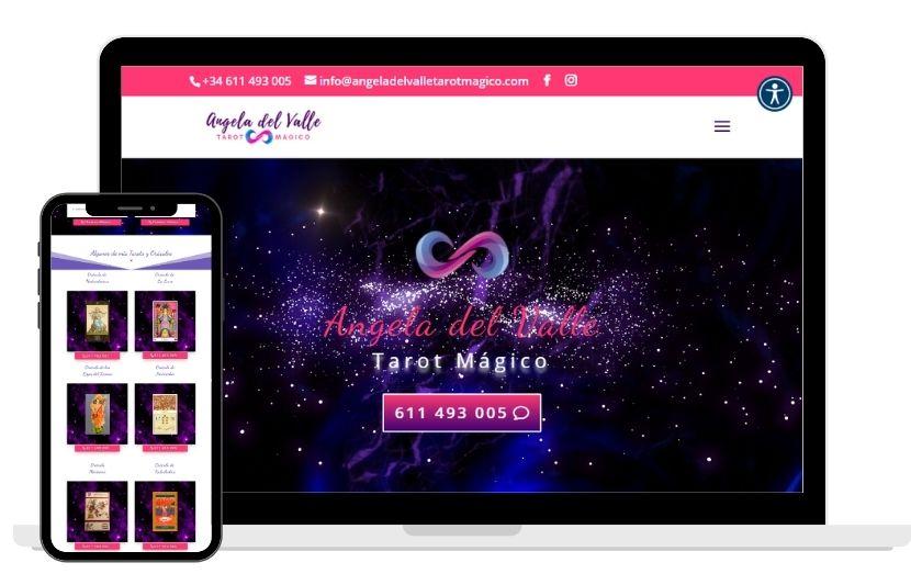 Diseño WordPress para Tarot